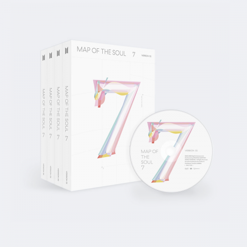 [FIRST PRESS] BTS - MAP OF THE SOUL : 7 + WEPLY ver