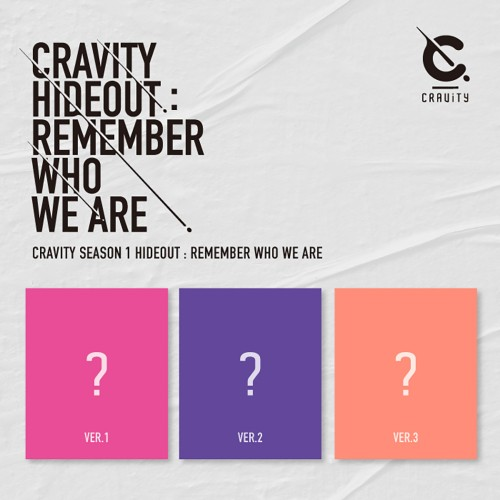 [FIRST PRESS] CRAVITY - Hideout: Remember Who We Are