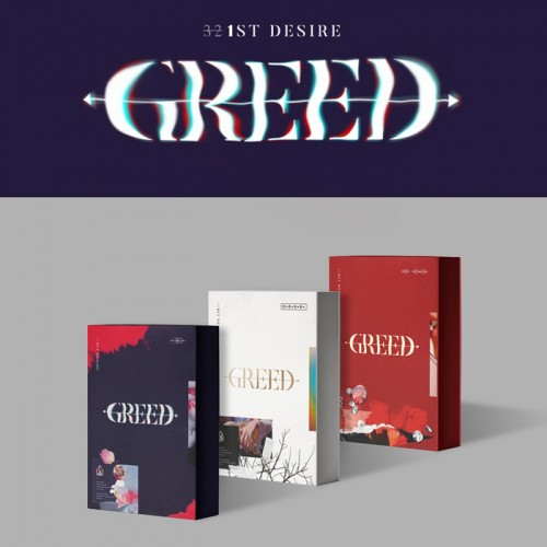 [FIRST PRESS] Kim Woo Seok - Greed